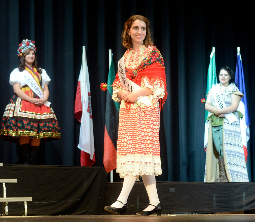 Description of . Maribeth Joeright/MJoeright@News-Herald.com <p> Madeline DiFilippo, Croation Princess, was one of the contestants of the 48th annual Lorain International Princess Pageant, June 26, 2014.