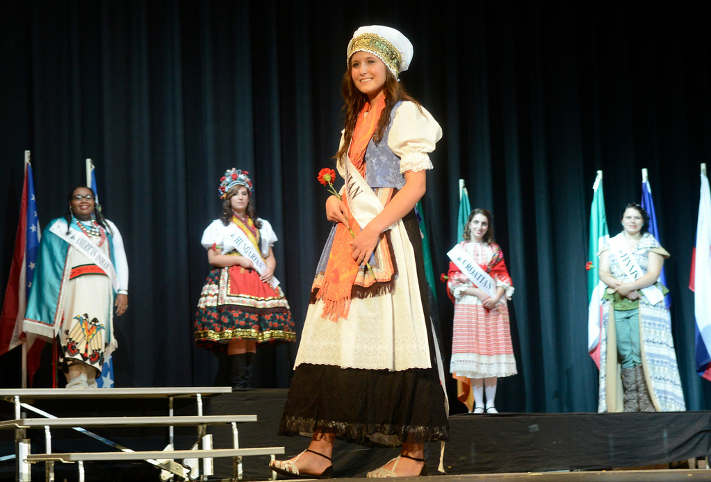 Description of . Maribeth Joeright/MJoeright@News-Herald.com <p> Megan Casselman, Slovenian Princess, was one of the contestants of the 48th annual Lorain International Princess Pageant, June 26, 2014.