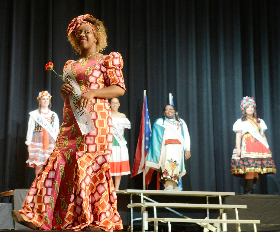 Description of . Maribeth Joeright/MJoeright@News-Herald.com <p> Ta'nya Drummer, African American Princess, was one of the contestants of the 48th annual Lorain International Princess Pageant, June 26, 2014.