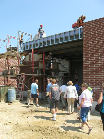 Construction of Vermilion's new middle school