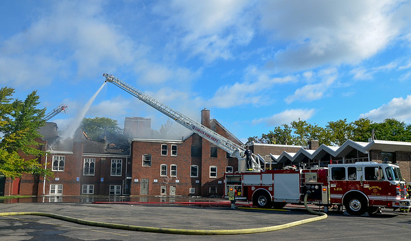 PHOTOS: First Evangelical Lutheran Church Fire