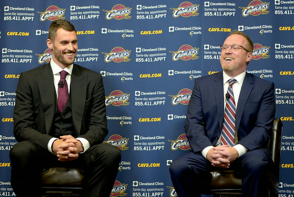 Photos: Cavaliers Introduce Kevin Love