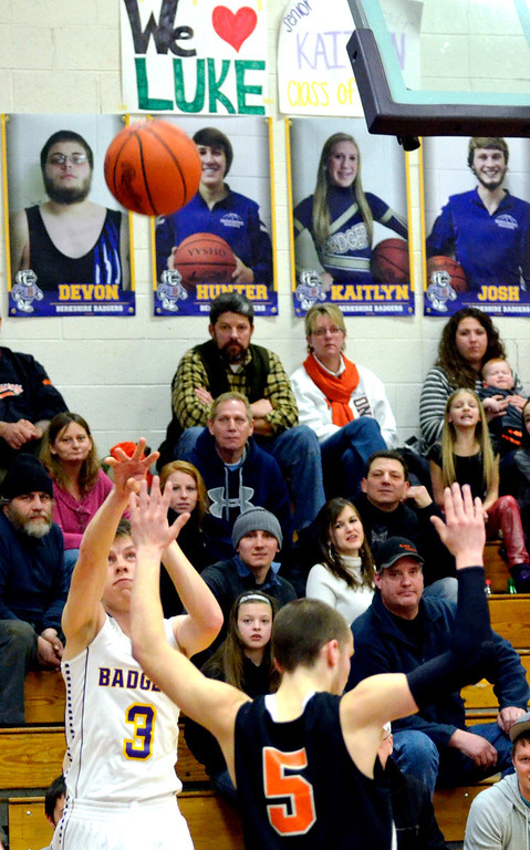 Description of . Jeff Forman/JForman@News-Herald.com Luke takes a shot and sinks it in the fourth quarter.
