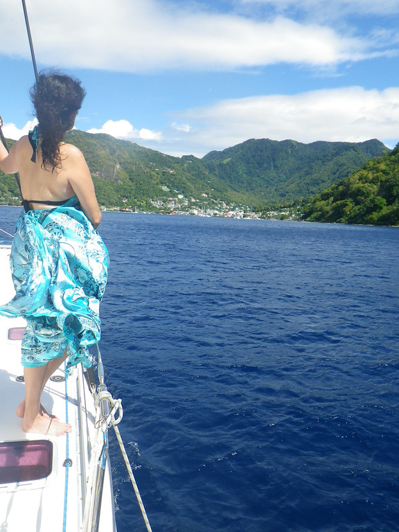 Description of . Janet Podolak/JPodolak@News-Herald.com<p>                                                                    Coconut Bay has its own catamaran, the Princess, which is used to give guests snorkeling and sightseeing tours along the Caribbean coast of St. Lucia