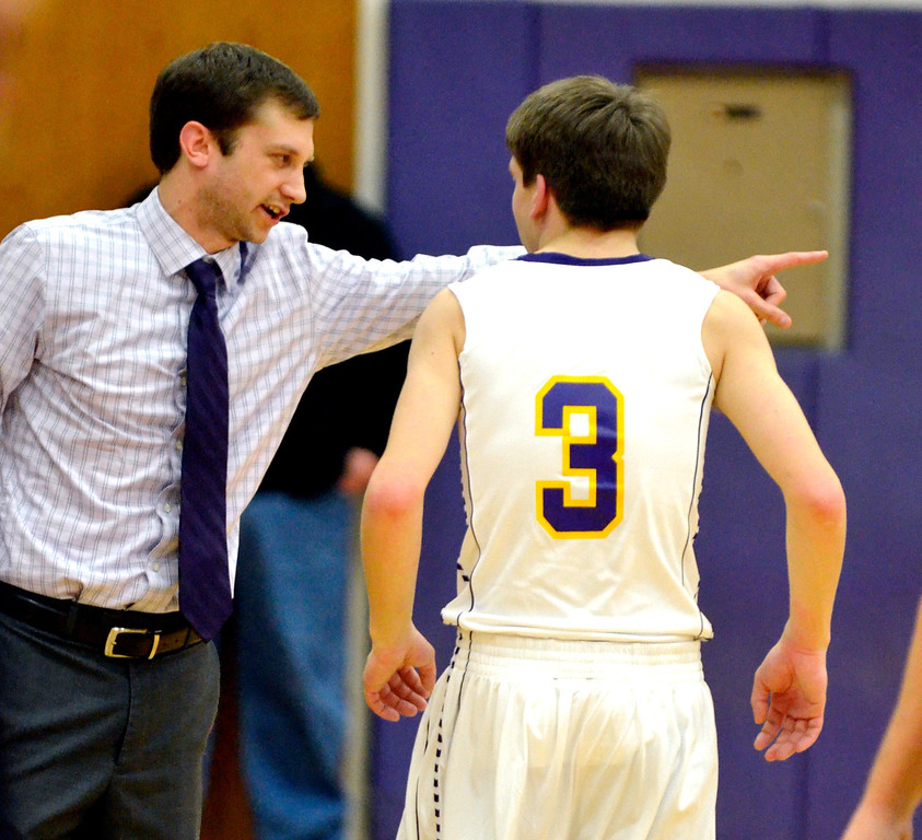 Description of . Jeff Forman/JForman@News-Herald.com Freiling takes direction from coach Keith Clapacs.