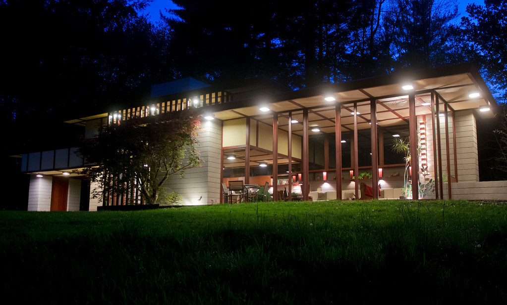Description of . Duncan Scott/DScott@News-Herald.com The Frank Lloyd Wright designed Louis Penfield House in Willoughby Hills has been listed for sale.