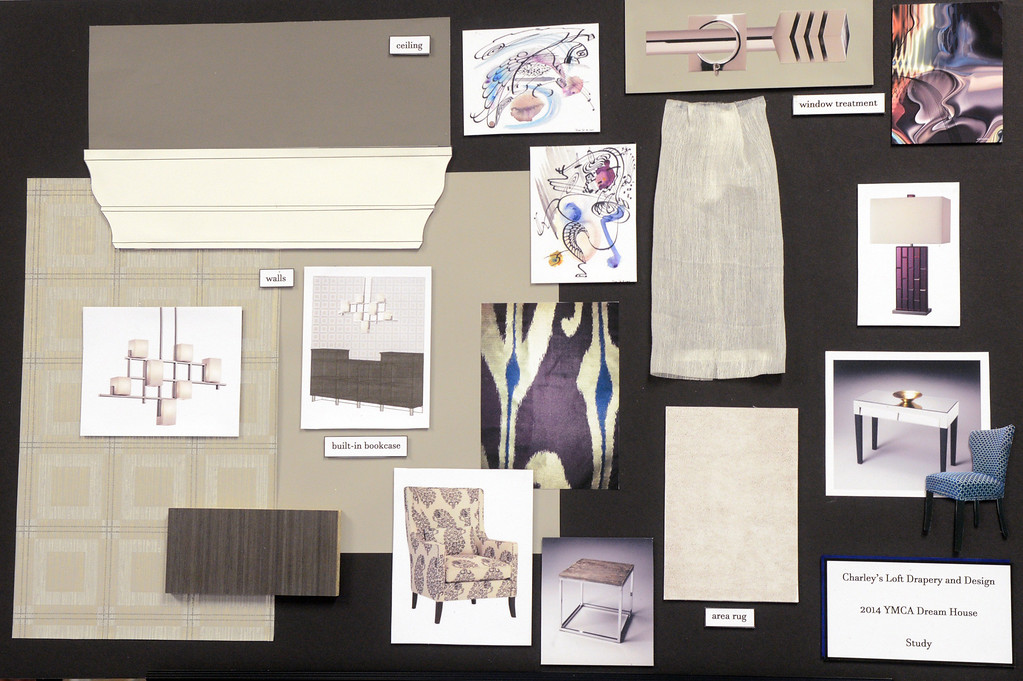 Description of . Duncan Scott/DScott@News-Herald.com Design elements of the study by Charley's Loft for the 2014 Lake County YMCA Dream House.