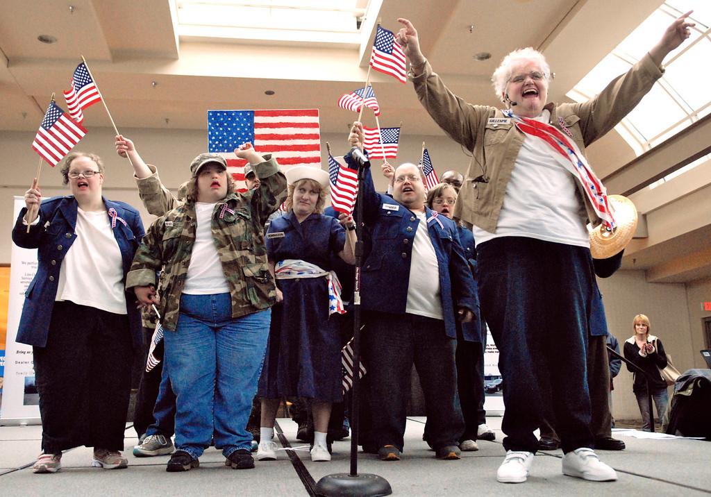 Description of . Jeff Forman/JForman@News-Herald.com The All American Group sings