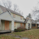 Eric Bonzar?The Morning Journal A condemned duplex located at 419 Kentucky Ave., Lorain, remains boarded up between occupied residences on the city's east side. The structure remains a ta ...