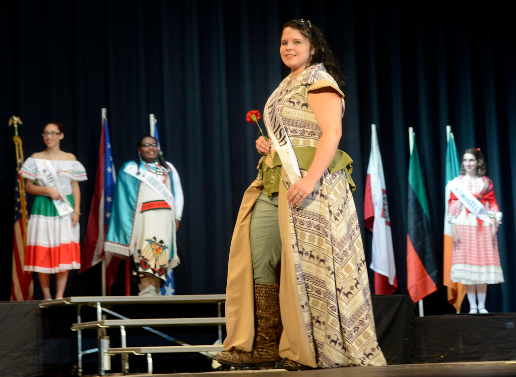 . Maribeth Joeright/MJoeright@News-Herald.com <p> Ariana Bratulic, Finnish Princess, was one of the contestants of the 48th annual Lorain International Princess Pageant, June 26, 2014.