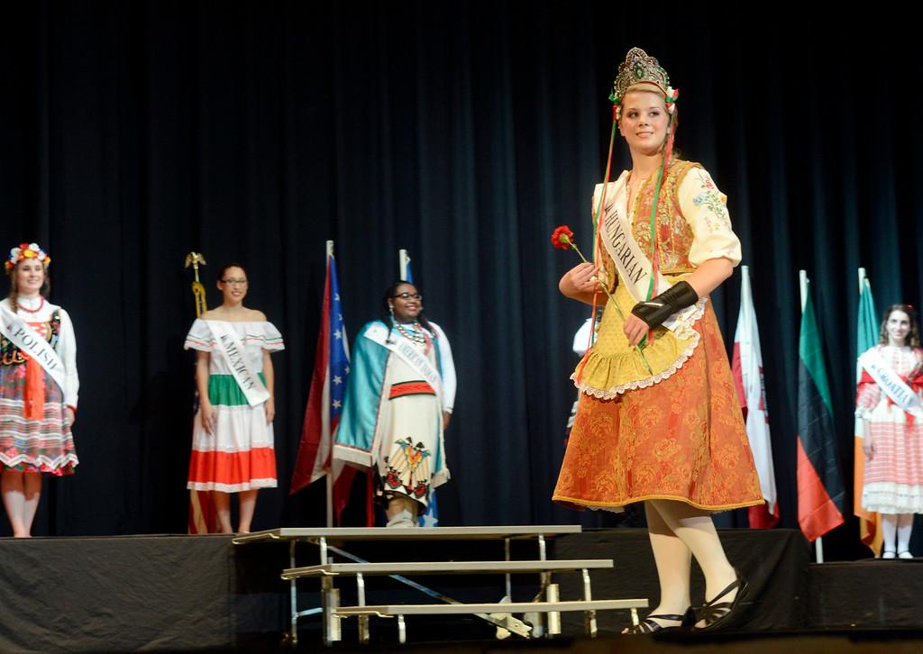 . Maribeth Joeright/MJoeright@News-Herald.com <p> Jamie Brod, Hungarian Princess, was one of the contestants of the 48th annual Lorain International Princess Pageant, June 26, 2014.