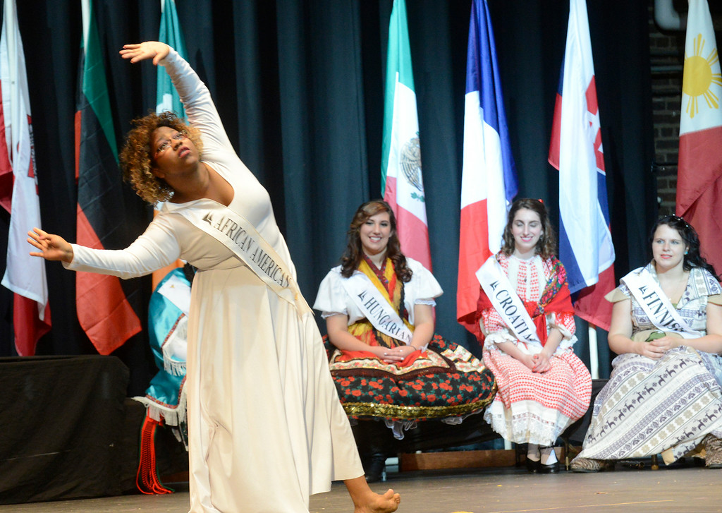 . Maribeth Joeright/MJoeright@News-Herald.com <p> Ta\'nya Drummer, African American Princess, was one of the contestants of the 48th annual Lorain International Princess Pageant, June 26, 2014. Her she performs a dance in the talent portion of the pageant.