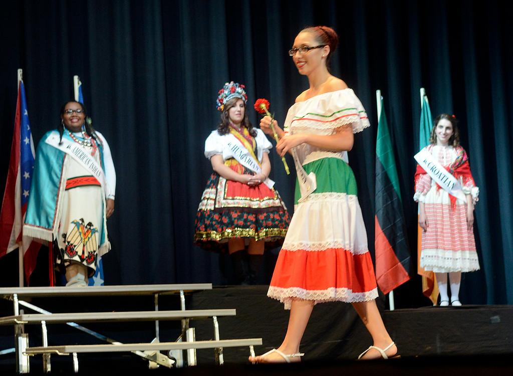 . Maribeth Joeright/MJoeright@News-Herald.com <p> Alena Gnizak, Mexican Princess, was one of the contestants of the 48th annual Lorain International Princess Pageant, June 26, 2014.