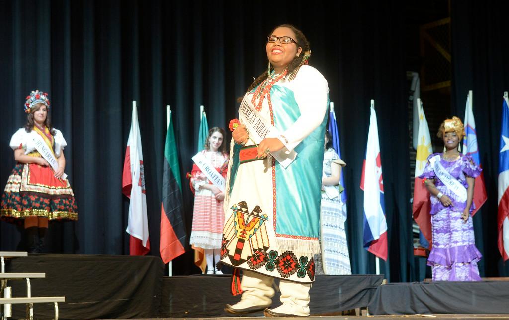 . Maribeth Joeright/MJoeright@News-Herald.com <p> Lyric Aquino, American Indian Princess, was one of the contestants of the 48th annual Lorain International Princess Pageant, June 26, 2014.