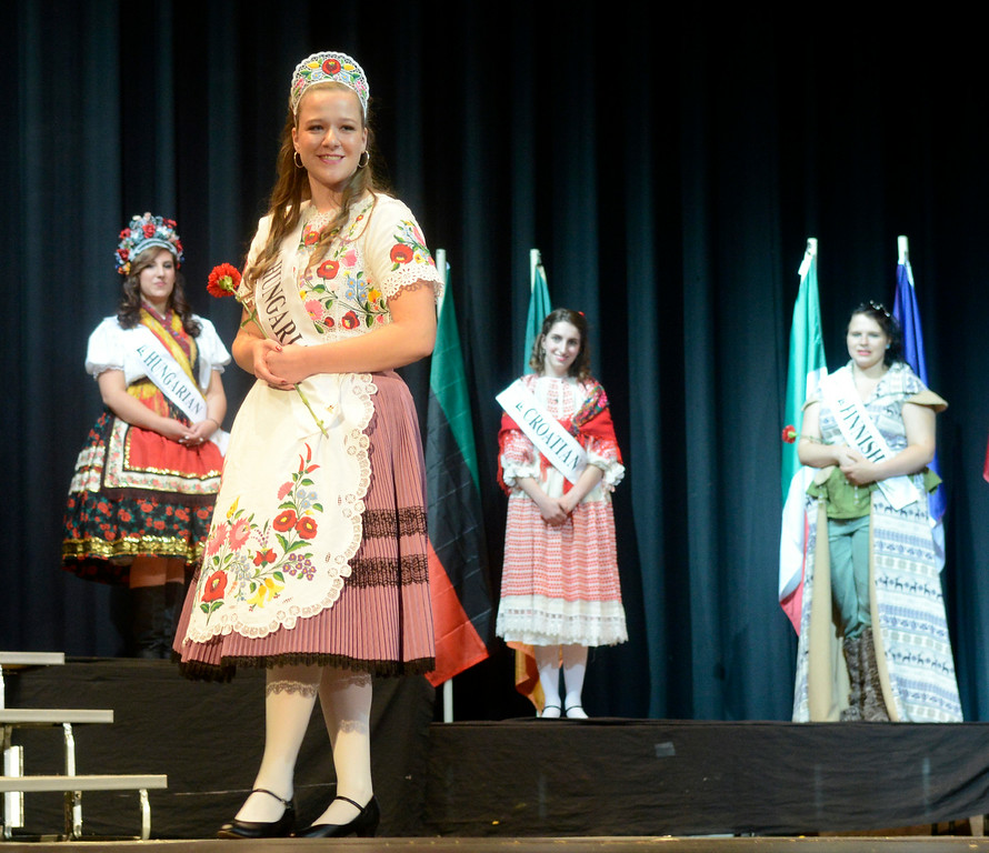 . Maribeth Joeright/MJoeright@News-Herald.com <p> Rachel Kozma, Hungarian Princess, was one of the contestants of the 48th annual Lorain International Princess Pageant, June 26, 2014. She was second runner up in the pageant.