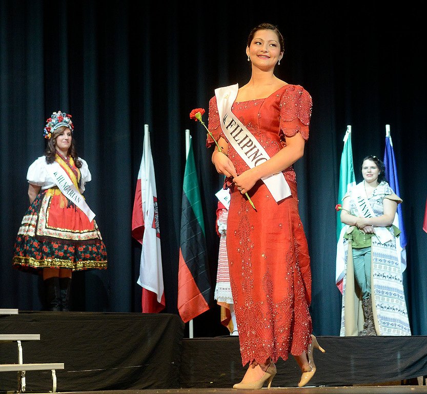 . Maribeth Joeright/MJoeright@News-Herald.com <p> Colleen Ziegman, Filipino Princess, was one of the contestants of the 48th annual Lorain International Princess Pageant, June 26, 2014. She was the winner of  the pageant.